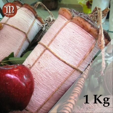 Pancetta pressata stagionata - 1 Kg